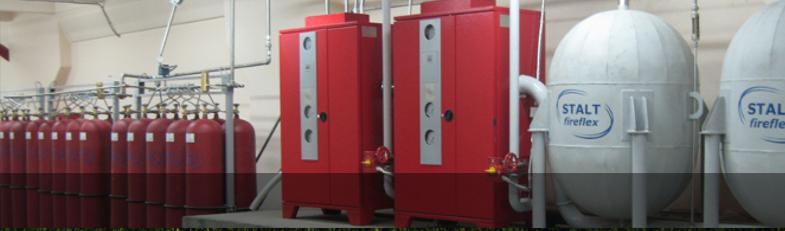 Инновационная система пенного пожаротушения